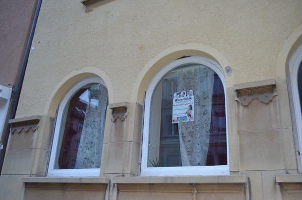 Siamthala Fenster view von der Idastrasse Zürich